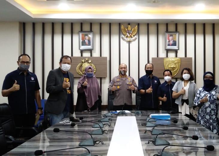 Rapat dengan Korbinmas Baharkam Polri bersama dengan Asosiasi yang tergabung dalam FADI (Forum Komunikasi Asosiasi Alih Daya Indonesia), ASPPHAMI, APKLINDO dan ABAD