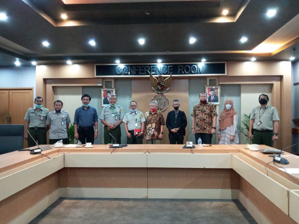 Persiapan Penyelenggaraan Penyaluran Bantuan Covid-19 dengan Badan Karantina Pertanian