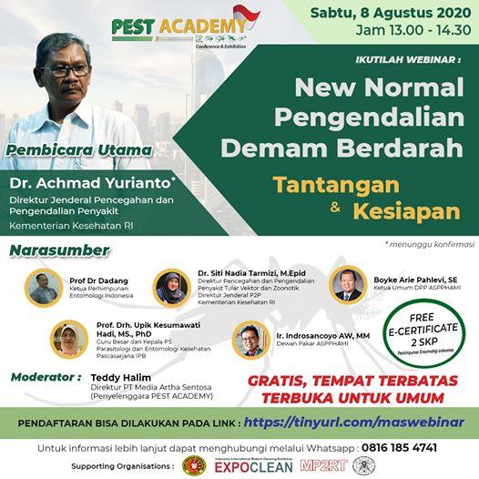 Webinar Pest Academy 2020