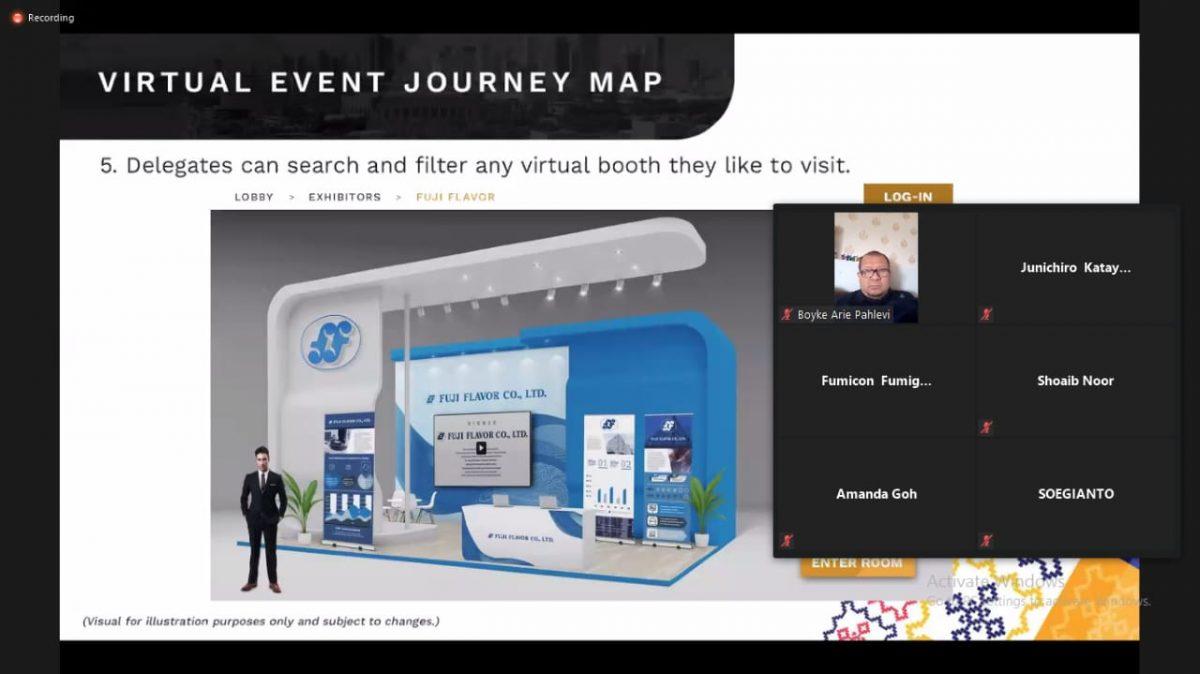 Persiapan Penyelenggaraan Pest Summit 2020 Virtual Conference, Manila